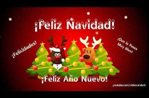 Tarjetas Navideñas Animadas Para Compartir: Feliz Navidad Y Feliz Año Nuevo, Tarjetas Animadas