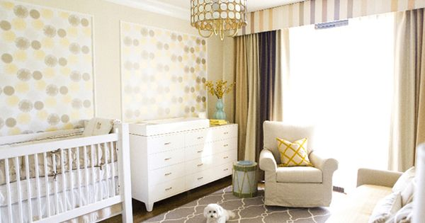 Great nursery decoration fen tre pinterest chambres for Chambre bebe sans fenetre