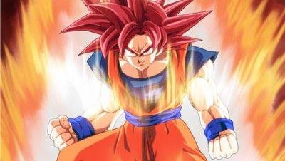 Ya Puedes Descargar Fotos De Goku Fase Dios Para Coleccionar Con