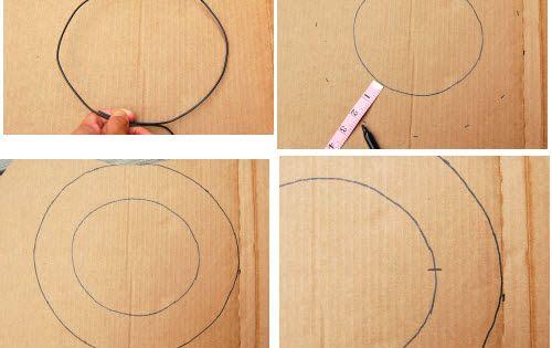 comment fabriquer un chapeau en carton bal masqu. Black Bedroom Furniture Sets. Home Design Ideas