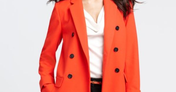 love the bright color! ann taylor