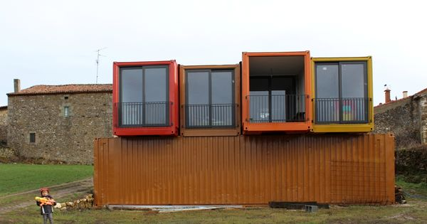 Vivendas modulares el ejemplo de una vivienda en contenedores maritimos parte iii - Contenedores vivienda ...