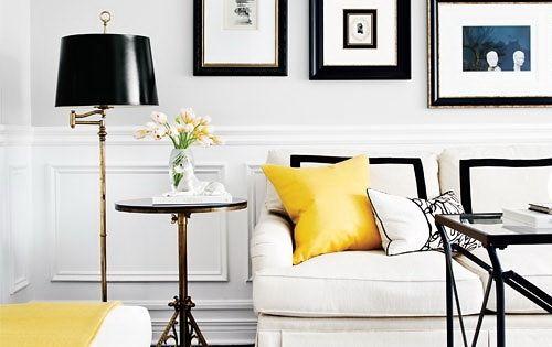Black White Yellow Black Yellow And White Pinterest