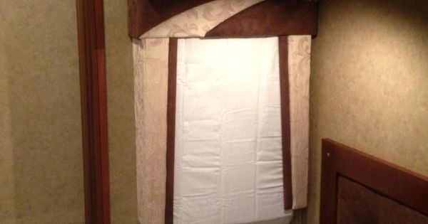Clever mod for cold weather rv window insulation pillow for Windows for cold climates