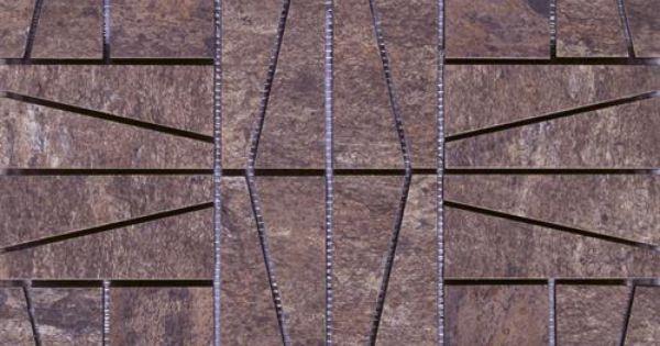 Interceramic Slate Supremo Autumn Mosaic 16 X 16