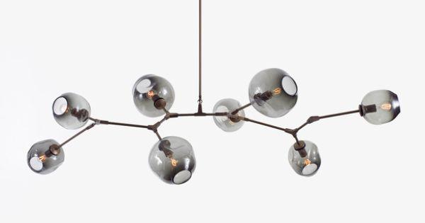 Lindsey adelman 8 globe branching bubble chandelier pinterest - Lindsey adelman chandelier knock off ...
