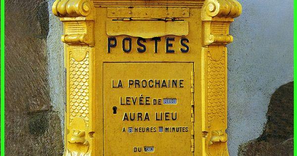 Vieille bo te aux lettres la poste pour livre d 39 or wedding boite pinterest belle chypre - Vieille boite aux lettres ...
