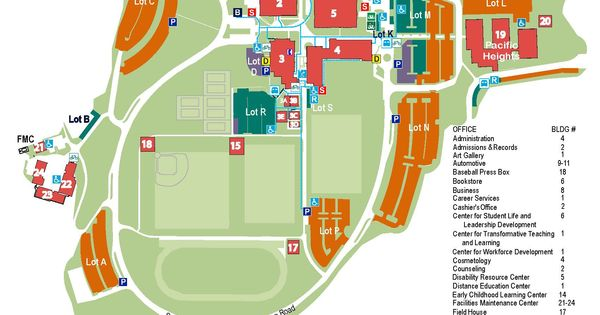Skyline College Campus Map Related Keywords Suggestions Skyline