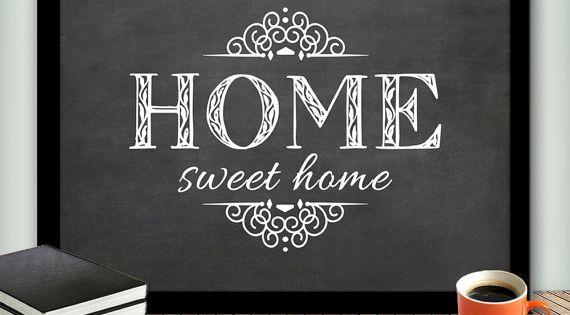 HOME Sweet Home Printable Art Wall Decor,Welcome Printable