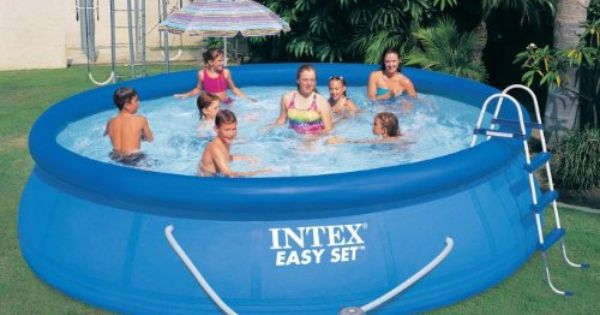 Intex 56408eg 15 Feet By 42 Inch Easy Set Pool Set 2015 Amazon Top Rated Kiddie Pools Lawn