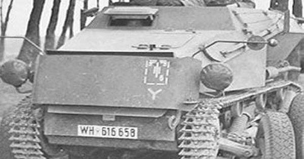 German 50 Mm Anti Tank Gun: The Sdkfz 254 Was A Fully Tracked Armoured Scout Car