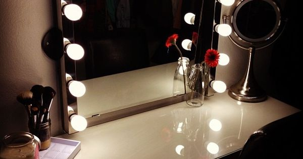 Vanity Ikea Vanity Lighted Mirrors And Dressing