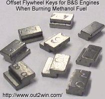 Special Made Offset Flywheel Keys For Briggs Stratton Engines