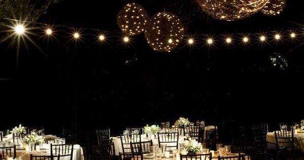 Love the lanterns! rustic wedding