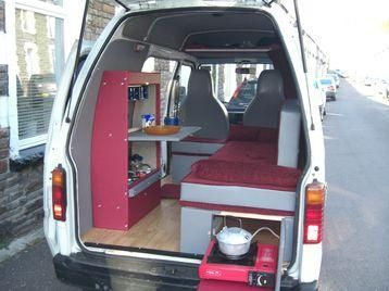 Hijet Camper Rear With Images Mini Van
