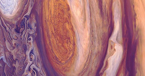 Jupiter's Great Red Spot - Amazing! Jupiter is my fav planet