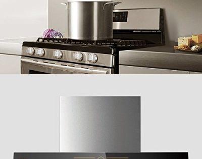 Fotile Jqg7501 30 Range Hood Under Cabinet Kitchen Stainless Steel Wall Mount With Led Light Black Range Hood Steel Wall Kitchen Cabinets