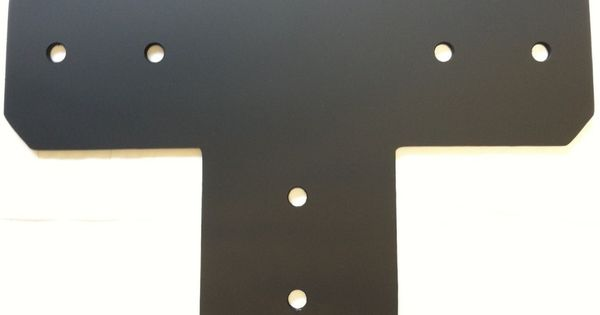 Pole Barn Post Brackets : Quot t brackets for post and beam https