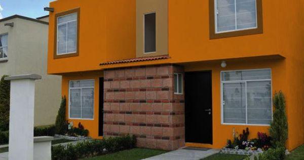 Renueva tu fachada con estos colores llenos de vida for Pinturas exteriores colores de moda