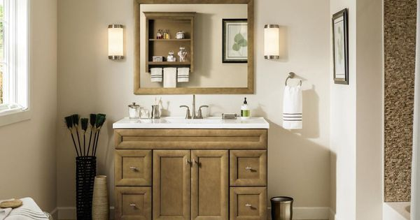 Shop Diamond Hanbury Tuscan Traditional Bathroom Vanity Common 48 In X 21 In Actual 48 In X