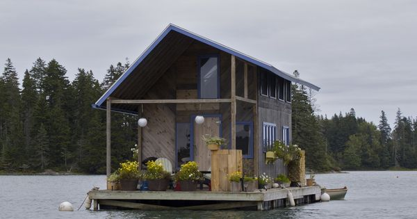 Boathouse, that would be a dream! Either holiday home or homehome, doesn't