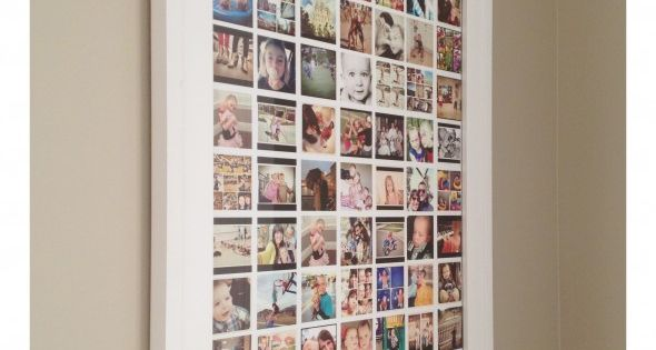 - instagram display - instagram collage frames. In this tutorial over at