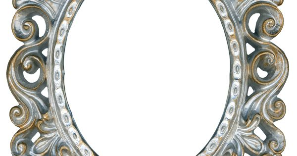 Vintage Silver and Gold Frame - Oval by ~EveyD on ...