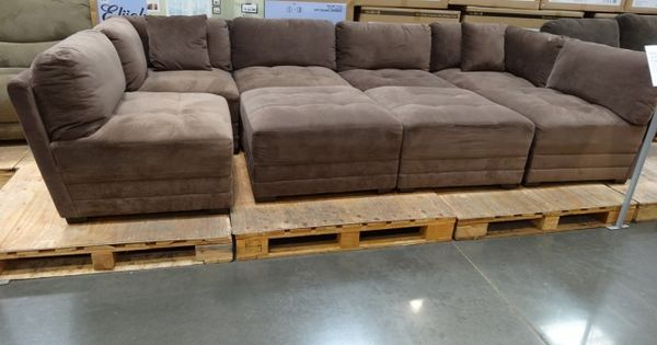 Marks and Cohen Hayden 8-Piece Modular Fabric Sectional ...