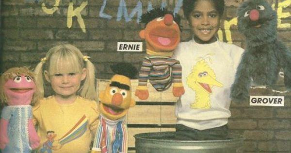 Vintage Sesame Street Outside Inside Coloring Book 1982 Muppets Unmarked Rare