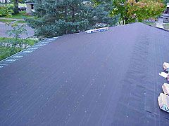 How To Dry In A Roof Install Tar Paper When Replacing Roof Shingles Replace Roof Shingles Ridge Vent Roof Shingles