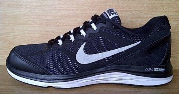 Kode Sepatu Nike Dual Fusion Run 3 Black White Ukuran Sepatu