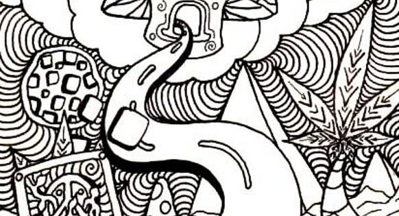 trippy coloring pages mushrooms nutrition - photo#20
