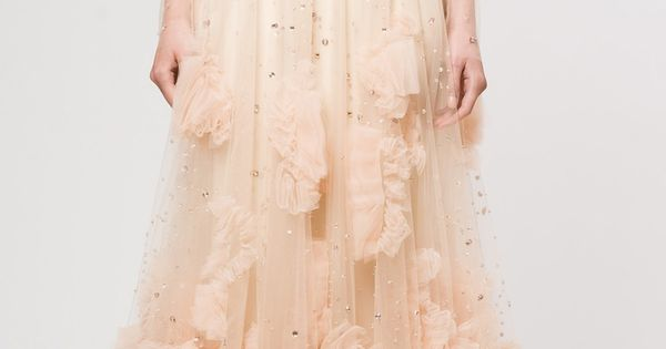 How 'bout a blush wedding dress?