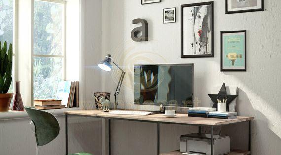 schreibtisch von wunderartshop auf etsy my interior dreams pinterest schreibtische b ros. Black Bedroom Furniture Sets. Home Design Ideas