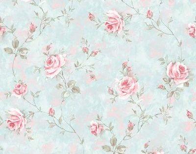 Garden Honore Leroymerlines M Papel Papel Pintado Para Pintado Rose Saint Vintage Floral Wallpapers Blue Floral Wallpaper Floral Wallpaper