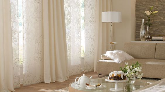 gardinen ideen haus pinterest gardinen ideen gardinen und wohnzimmer. Black Bedroom Furniture Sets. Home Design Ideas