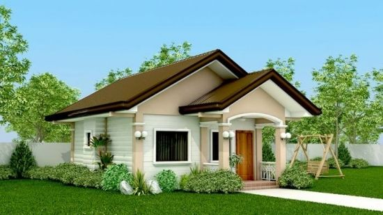 Proiecte De Case Mici Fara Etaj Simple House Design Simple Bungalow House Designs Philippines House Design