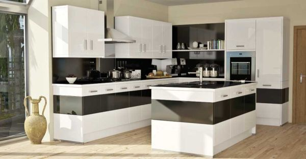 10 Kitchen Color Schemes For The Modern Home Modern Kitchen Colours Kitchen Renovation Design Kitchen Cabinets Color Combination