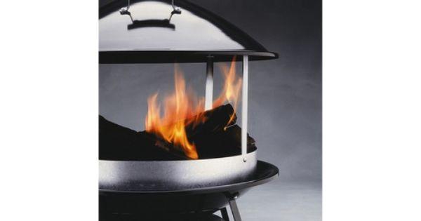 Barbecue weber chemin e de jardin tout pour la cuisine for Cheminee exterieur weber