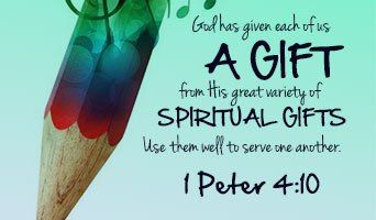 "Using your Spiritual gift"" 7/03/20 Written by Loius Mize, a Facebook friend  