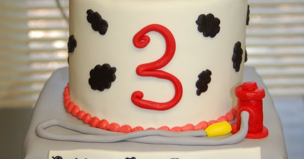 Cake Designs Redding Ca : Firetruck/station birthday cake by Cake is the Best Part ...