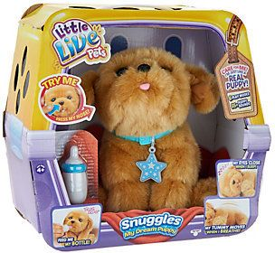 Little Live Pets Snuggles My Dream Puppy Animated Plush Ad Little Live Pets Animated Plush Top Christmas Toys