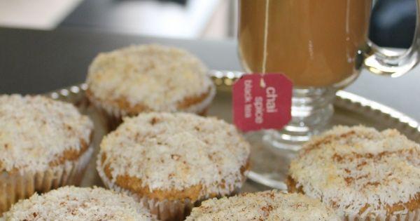 Coconut Chai Cupcakes