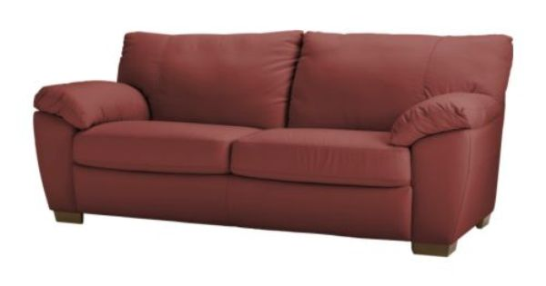Vreta Sofa Ikea Soft Durable And Easy Care Leather Which Is Practical For Families With