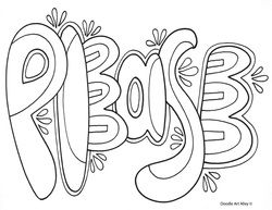 The Power Of Kind Words Classroom Doodles Coloring Pages