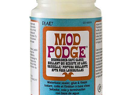 Mod Podge Dishwasher Safe Gloss 236ml Mod Podge Ontsmettingsalcohol Zacht Haar