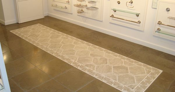 Tile display at waterworks showroom in san francisco that 39 rug 39 is actually tile how cool Bathroom showrooms san francisco