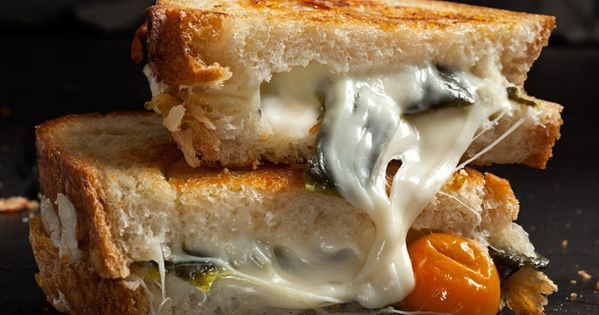 Grilled Cheese Sandwich Inspiration : Chiles Rellenos' Cousin - Monterey Jack, green