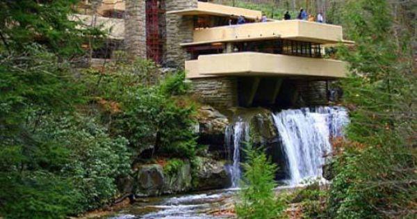 Casa sulla cascata di frank lloyd wright le case pi for Casa sulla cascata frank lloyd wright
