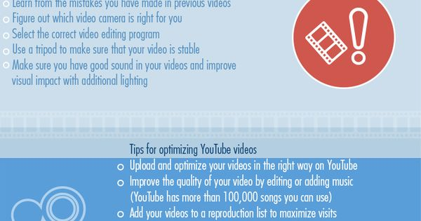 101 video marketing tips for your business infografia infographic marketing